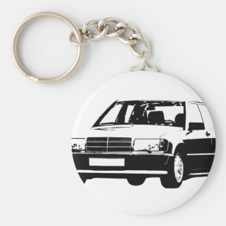Mercedes-Benz-190E Key Ring