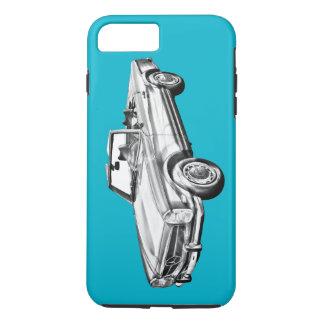 Mercedes Benz 280 SL Convertible Car Illustration iPhone 7 Plus Case