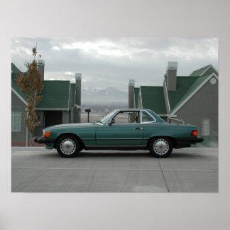 Mercedes-Benz 560 SL Poster