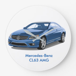Mercedes-Benz image for Round (Large) Wall Clock