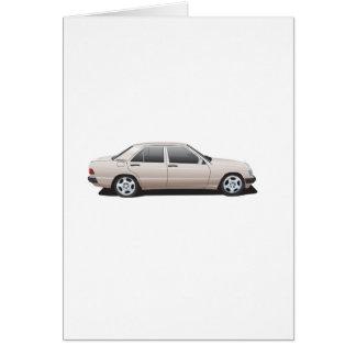 Mercedes-Benz W201 (190) Card
