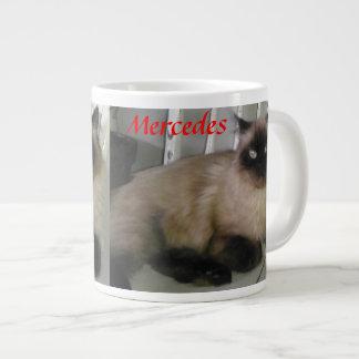 Mercedes Cat Coffee Mug