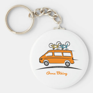 Mercedes Sprinter Gone Biking Key Ring