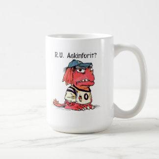 Mercer Mayer's 'R.U. Askinforit?' Monster mug