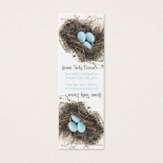 Merchandise Tag, White Mini Business Card