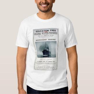 Merchant Marine Recruiting Poster (US02056) Tshirts