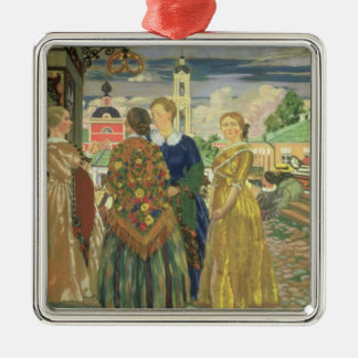 Merchant Women Christmas Ornament
