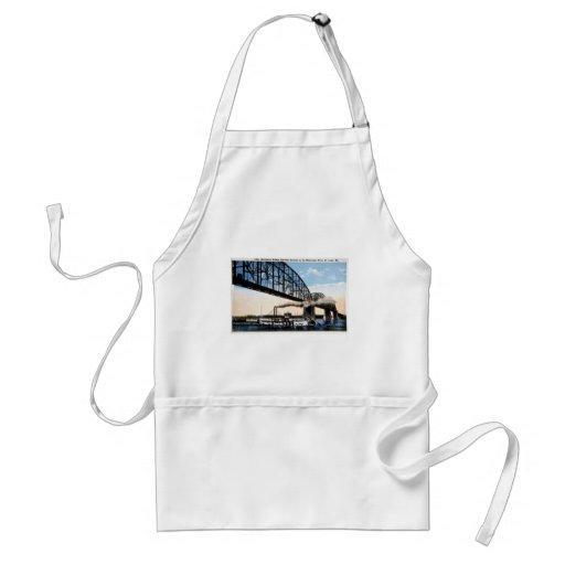 Merchants Bridge, Mississippi River, St. Louis, MO Aprons