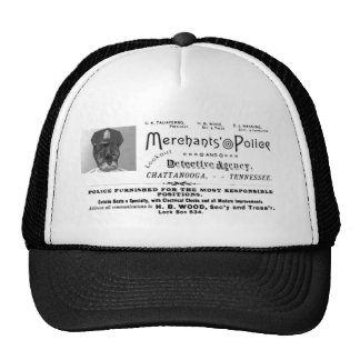 Merchant's Police and Detective Agency Cap
