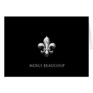 Merci Beaucoup (Thank You Very Much) Greeting Cards