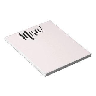 Merci Notepad