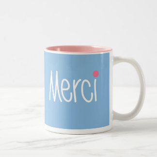 Merci Thank you in any language Mug