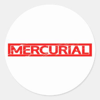 Mercurial Stamp Classic Round Sticker