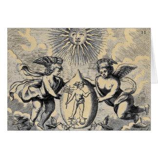 Mercurius Egg Card