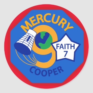 Mercury 9 Sticker