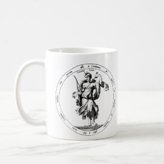 Mercury and Luna Mythology Coffee Mug