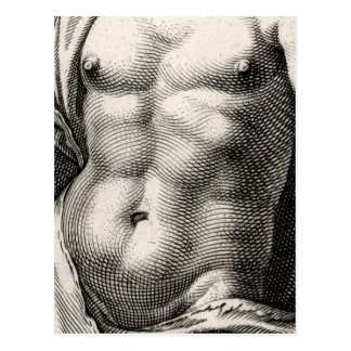 Mercury by Goltzius Postcard