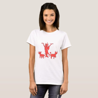Mercury Hottie and Dogs T-Shirt