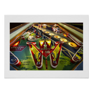 Mercury pinball poster