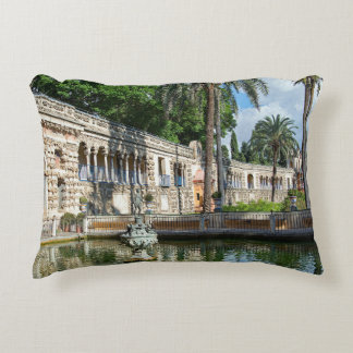 Mercury Pond and the Gallery of the Grotesque. Decorative Cushion