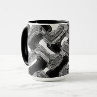 Mercury & Sable Combo Mug by Artist C.L. Brown