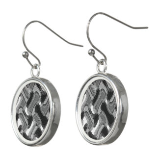Mercury & Sable Drop Earrings by Artist C.L. Brown