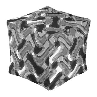 Mercury & Sable Outdoor Cubed Pouf