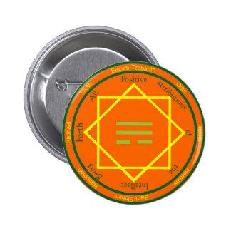 mercurybutton 6 cm round badge