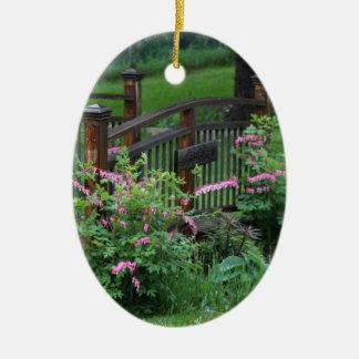Mercury's Garden Ceramic Oval Decoration