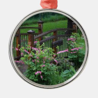 Mercury's Garden Silver-Colored Round Decoration