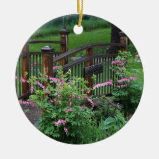 Mercury's Garden Round Ceramic Decoration