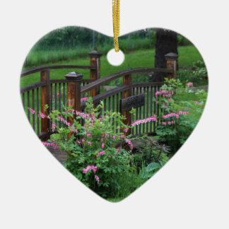 Mercury's Garden Ceramic Heart Decoration