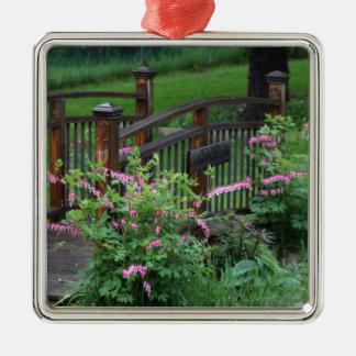 Mercury's Garden Silver-Colored Square Decoration