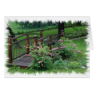 Mercury's Garden Greeting Card