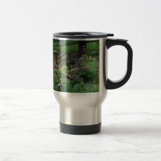 Mercury's Garden Stainless Steel Travel Mug