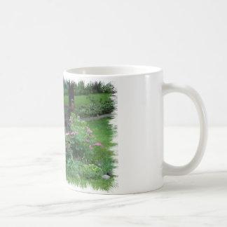 Mercury's Garden Basic White Mug