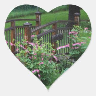 Mercury's Garden Heart Sticker