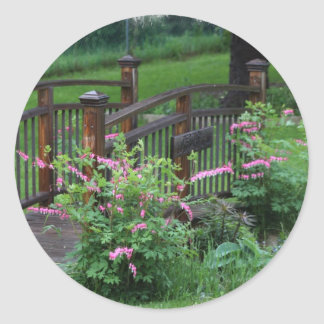 Mercury's Garden Round Sticker