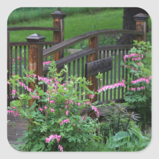 Mercury's Garden Square Sticker