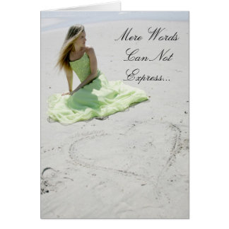 Mere Words Can Not Express Card