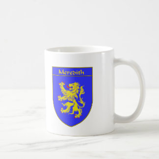 Meredith Coat of Arms/Family Crest Coffee Mug