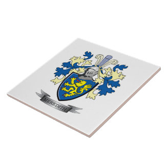 Meredith Family Crest Coat of Arms Ceramic Tile