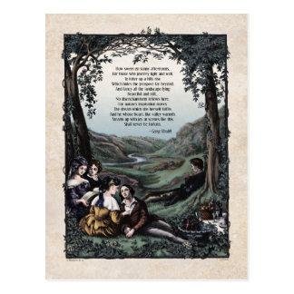 """Meredith """"Pastorals"""" Victorian Postcard"""