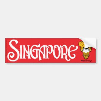 Merfamily® SINGAPORE Bumper Sticker II