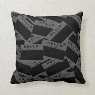 Merhaba Ebony (Smoke) Pillow