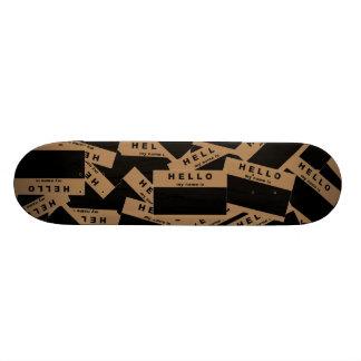 Merhaba Ebony (Tan) Skateboard Deck