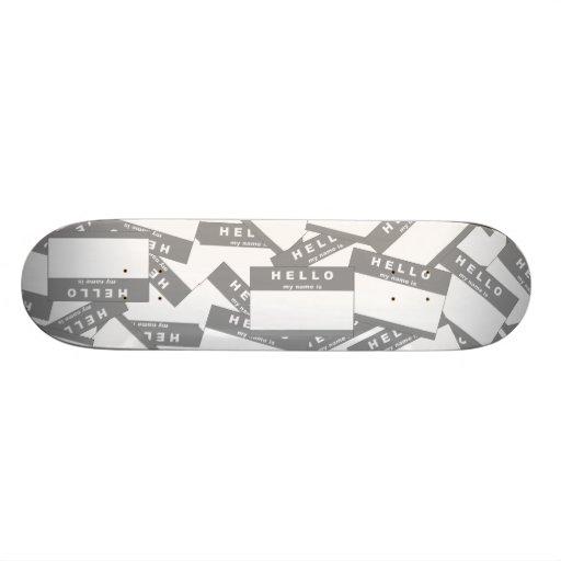 Merhaba Ivory (Grey) Skateboard Deck