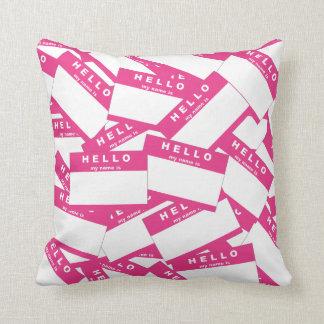 Merhaba Ivory (Magenta) Pillow