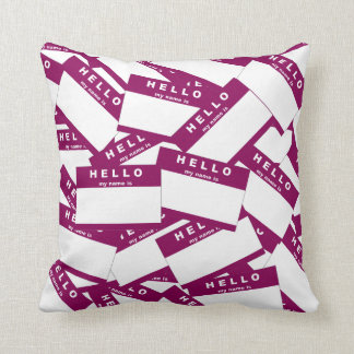 Merhaba Ivory (Red-Violet) Pillow Cushions