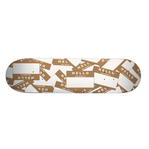 Merhaba Ivory (Tan) Skateboard Deck